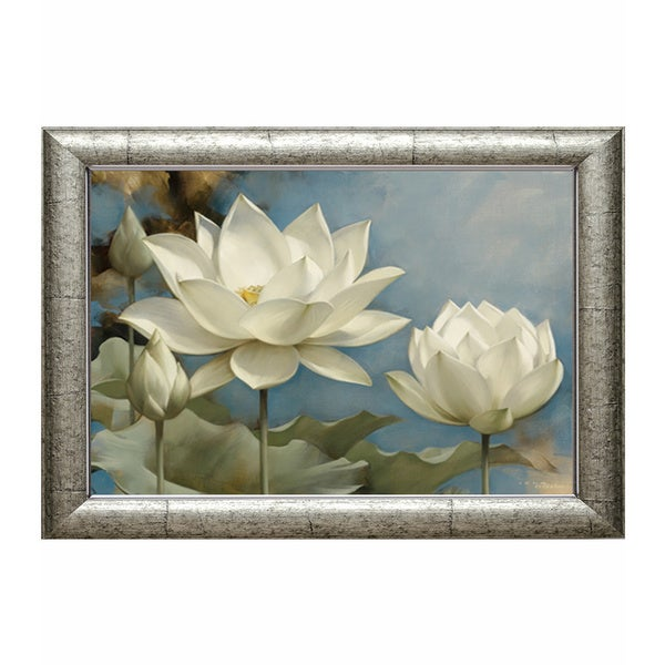 Lotus I' by Igor Levashov Framed Art Print