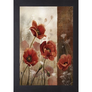 Wild Poppies II' by Conrad Kutsen Framed Art Print