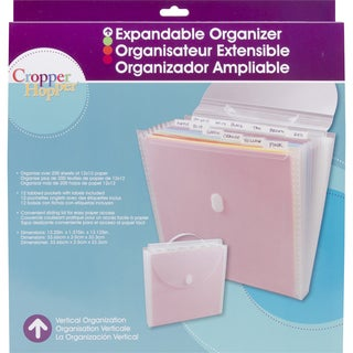 Cropper Hopper Expandable Paper Organizer-12X12in