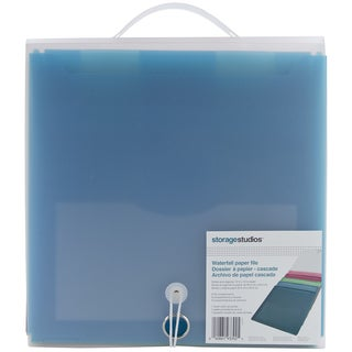 Storage Studios Waterfall Paper File- Teal