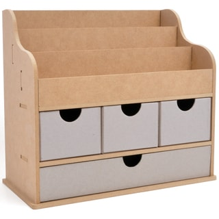 Beyond The Page MDF Large Desk Organizer
