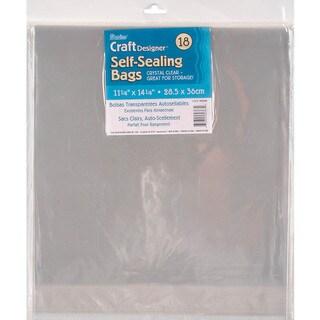 Self Sealing Bags 18/Pkg
