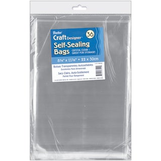 Self Sealing Transparent Bags 30/Pkg