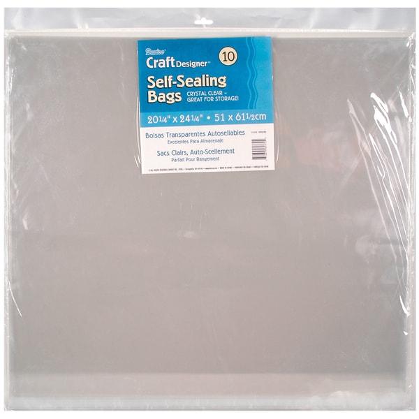 Self Sealing Bags 10/Pkg
