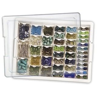 Elizabeth Ward's Assorted Bead Tray 13.75X10.5X2in