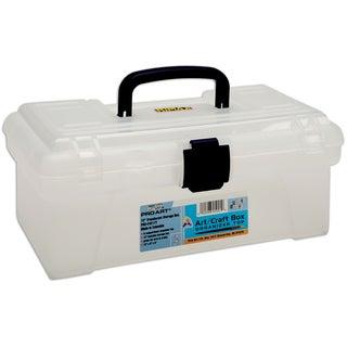 "Pro Art Storage Box With Organizer Top 12""X6""X5""-Translucent"