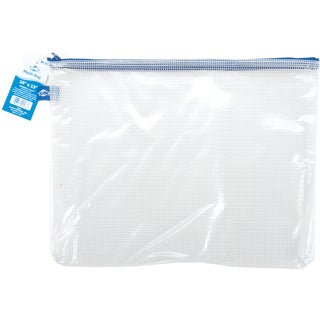 Clear Mesh Bag W/Zipper