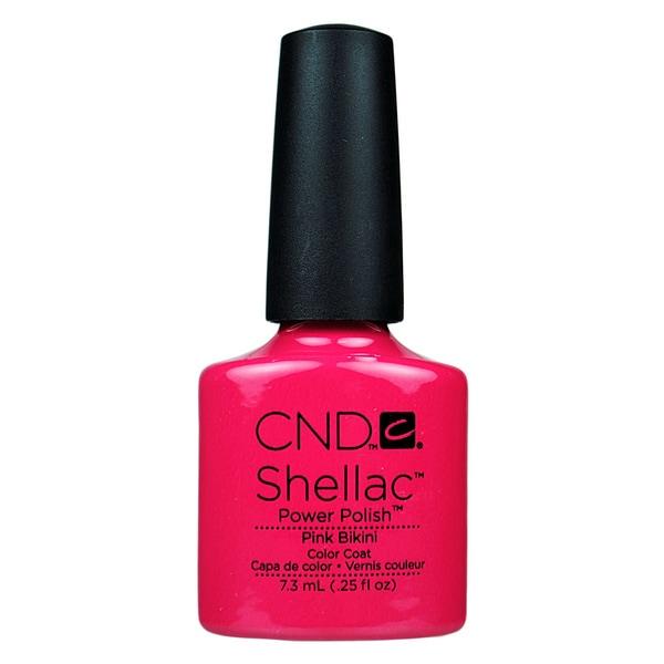 CND Shellac Pink Bikini Gel Polish