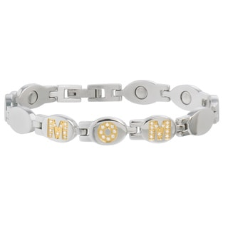 Sabona MOM Gold Gem Magnetic Bracelet