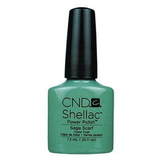 CND Shellac Sage Scarf Gel Polish