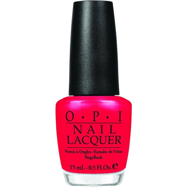 OPI Red Lights Ahead Where? Nail Lacquer