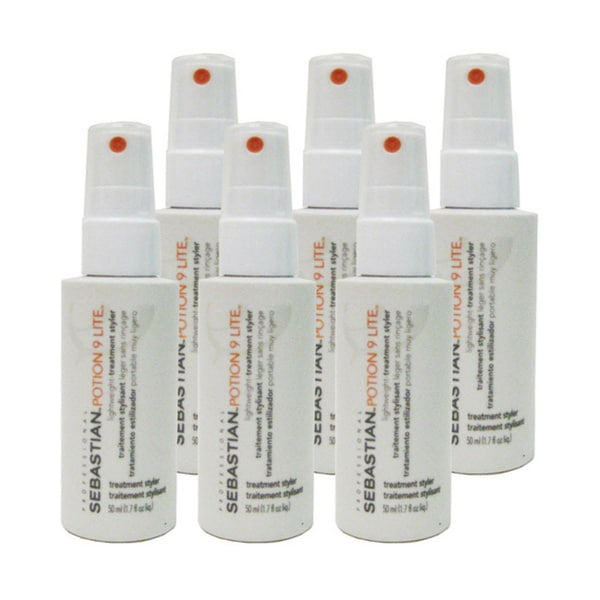 Sebastian Professional Potion 9 Lite 1.7-ounce Travel Size Treatment Styler (Pack of 6)