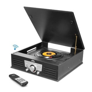 Pyle Bluetooth Record Player Turntable Phonograph