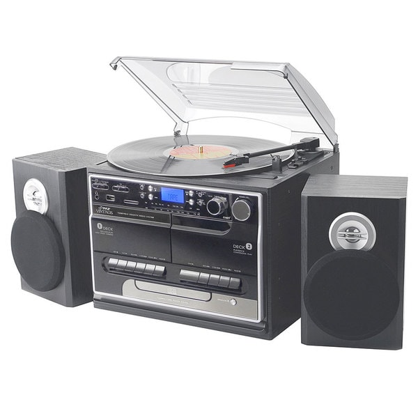 Pyle Bluetooth Turntable Speaker System