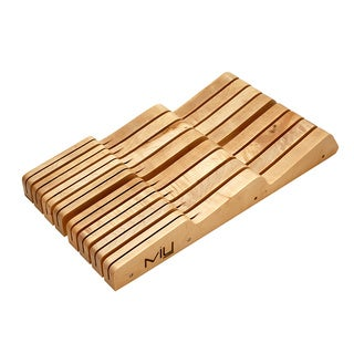 Miu France 14-slot Wood Drawer Knife Tray