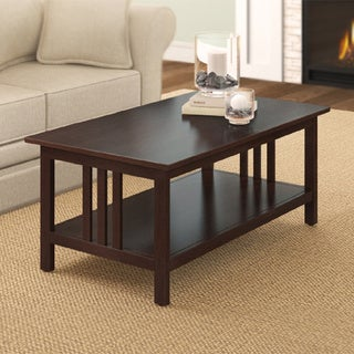 Classic 42-inch Mission Coffee Table