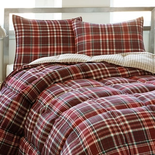 Eddie Bauer Northwood Plaid Down Alternative 3-piece Comforter Set