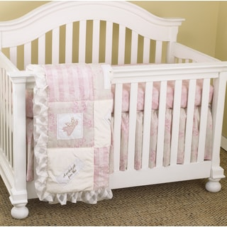 Cotton Tale Heaven Sent Girl 3-piece Crib Bedding Set