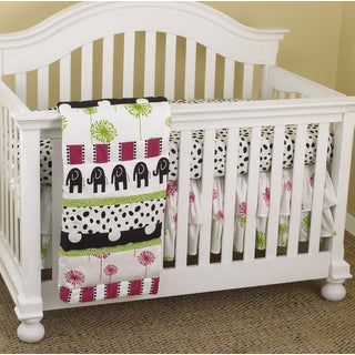 Cotton Tale Hottsie Dottsie 3-piece Crib Bedding Set