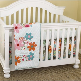 Cotton Tale Lizzie 3-piece Crib Bedding Set
