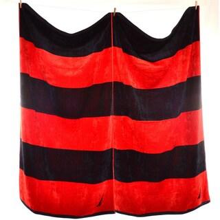 Nautica Rugby Stripe Beach Towel (Set of 2)