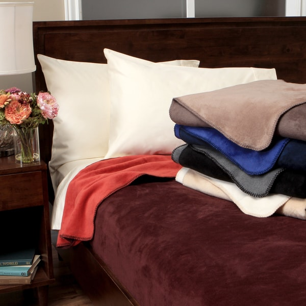 Sorrento Plush Reversible Blanket