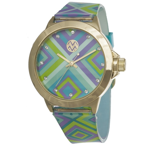 The Macbeth Collection Women's MBW013 Tory Casablanca Color Fashion Jelly Band Watch