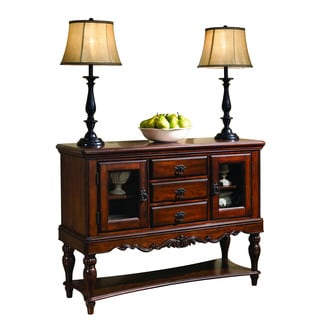 Cherry Brown 'Addison' Server Buffet