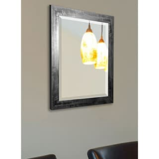 American Made Rayne Black Smoke Wall Mirror