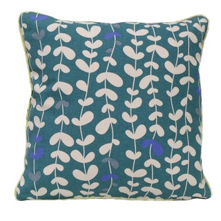 Vines Square Organic Cotton Throw Pillow (Set of 2)
