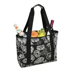 Picnic at Ascot Large Insulated Tote Night Bloom