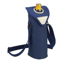 Picnic at Ascot Single Bottle Tote 11in Aegean