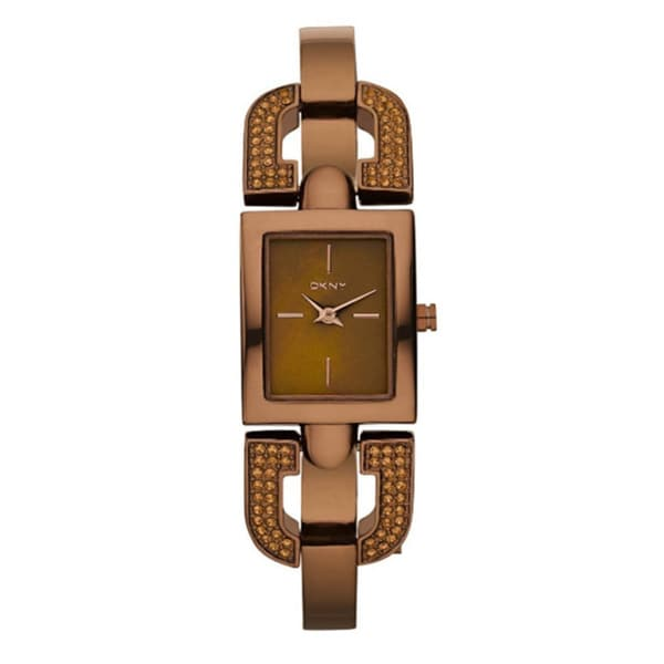 DKNY Women's NY8468 Brown Stainless Steel Watch
