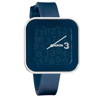 Nixon Women's 'Rocio' A162 Navy Silicone Strap Watch