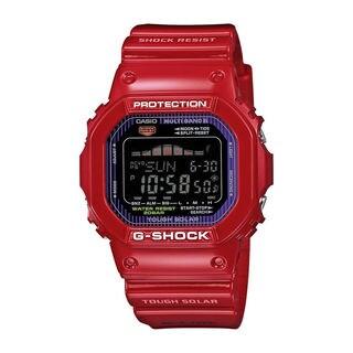 Casio Men's 'G-Shock' GWX5600C-4 Red Resin Watch