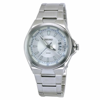 Seiko Men's Classic Stainless Steel Quartz Watch