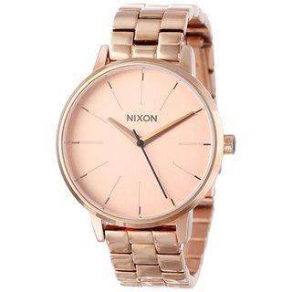 Nixon Women's 'A099-897 Kensington' Rose Goldtone Watch