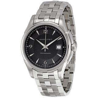 Hamilton Men's 'H32515135 Jazzmaster Viewmatic' Silvertone Watch