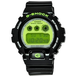 Casio Men's 'G-Shock DW6900CS-1' Black Digital Watch