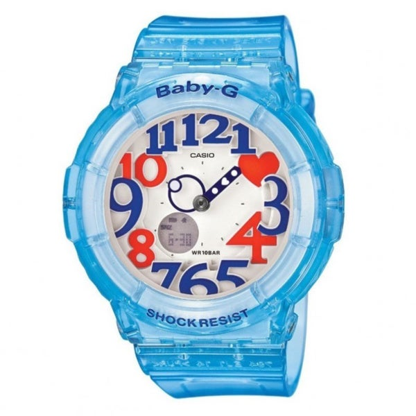 Casio Women's 'Baby-G BGA-131-2B' Blue Watch