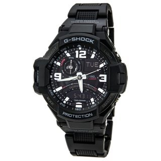 Casio Men's 'G-Shock GA1000FC-1A' Black Watch