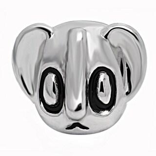 De Buman Sterling Silver Enamel Koala Charm Bead
