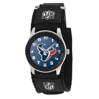 Game Time NFL Houston Texans Black Rookie Series Watch