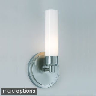 Anya 1-light Modern Chrome Bathroom Sconce