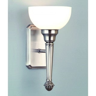 Liberty 1-light Polished Nickel Wall Sconce