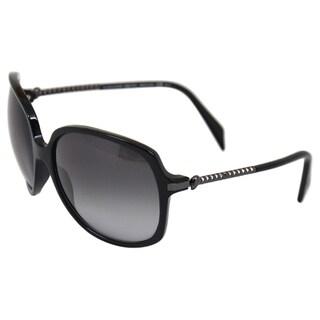 Alexander McQueen Women's '4171/S 0ANS' Ruthenium Sunglasses