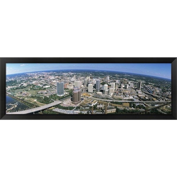 'Richmond VA' Framed Panoramic Photo