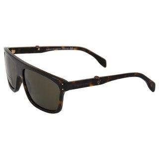 Alexander McQueen 'Dark Havana' 4209/S 0086 Women's Sunglasses