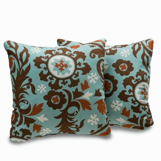 Uptown 18-inch Decorative Throw Pillows (Set of 2)