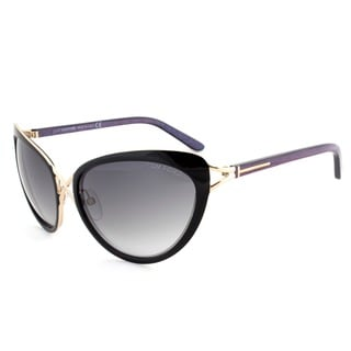 Tom Ford Women's 'FT0321 Daria 32B' Gold/Gradient Smoke Cat-eye Sunglasses